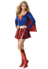 Rubies-Womens-Man-Of-Steel-Supergirl-Halloween-Themed-Party-Fancy-Sexy-Costume-Small-6-8-0