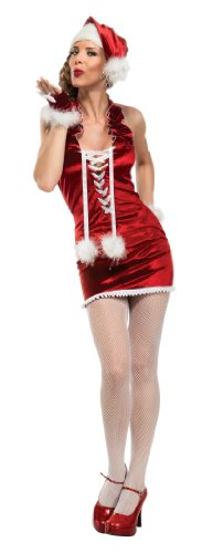 Secret-Wishes-Christmas-Collection-Sexy-Mrs-Fab-Santa-Costume-Red-X-Small-0