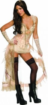 Secret-Wishes-Jonah-Hex-Sexy-Lilah-Costume-Cream-Medium-0