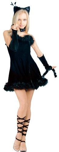 Secret-Wishes-Kissable-Kitty-Costume-Black-Small-0