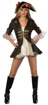 Secret-Wishes-Sexy-Buccaneer-Costume-BrownCream-X-Small-0