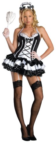 Secret-Wishes-Sexy-Maid-Perfect-Costume-Black-Small-0