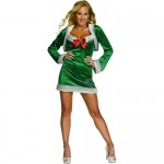 Secret-Wishes-Sexy-Snowflirt-Costume-GreenWhite-Large-0