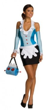 Secret-Wishes-Womens-Jetsons-Rosie-The-Maid-Costume-Blue-Small-0