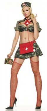 Sexy-Adult-Halloween-Costumes-Army-Nurse-Costume-Womens-US-SM-0