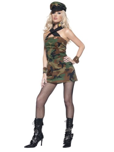Sexy-Army-Costume-Camo-Print-Mini-Dress-Military-Theatre-Costumes-Sizes-Small-0