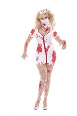 Sexy-Bloodbath-Betty-Womens-Nurse-Adult-Roleplay-Costume-1X2X-WhiteRed-0