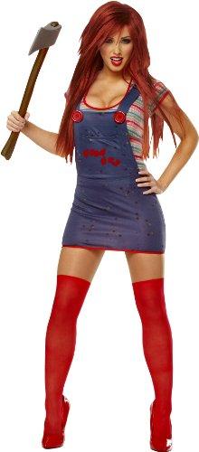 Sexy-Chucky-Costume-Medium-Dress-Size-8-10-0