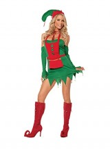 Sexy-Holiday-Helper-Naughty-Elf-Adult-Roleplay-Costume-X-large-Green-0
