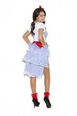 Sexy-Kansas-Cutie-Storybook-Adult-Roleplay-Costume-Small-WhiteBlue-Gingham-0-0