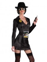 Sexy-Private-Investigator-Womens-Detective-5-Piece-Halloween-Costume-Sizes-Large-0