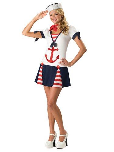 Sexy-Sailor-Costume-Military-Navy-Naval-Uniform-USA-Patriotic-Teen-Costume-Sizes-Small-0