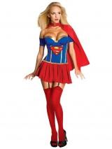 Sexy-Supergirl-Corset-Costume-Womens-Small-0