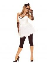 Sexy-Womens-80s-Rock-Star-Adult-Roleplay-Costume-Set-Medium-White-0