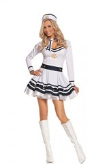 Sexy-Womens-Achors-Away-Sailor-Adult-Roleplay-Costume-Small-WhiteNavy-0