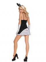 Sexy-Womens-Exotic-Black-Tie-Bunny-Adult-Roleplay-Costume-Small-BlackWhite-0-0
