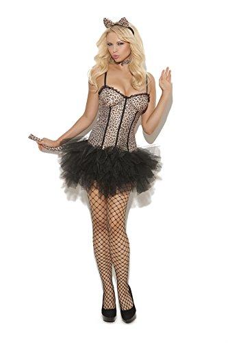 Sexy-Womens-Feline-FiFi-Cat-Adult-Roleplay-Costume-Medium-Animal-Print-0