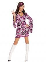 Sexy-Womens-Vintage-Vixen-Hippie-Adult-Roleplay-Costume-Large-Paisley-Print-0