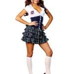 Super-Sexy-School-Girl-Costume-Uniform-Dress-Womens-Theatrical-Costume-Sizes-Medium-0
