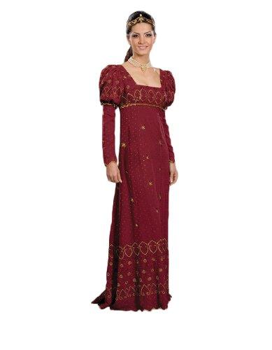 Womens-19th-Century-Josephine-Dress-Theater-Costume-Small-Maroon-0