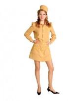 Womens-Beige-Gold-1940s-Navy-Uniform-Theater-Costume-M-0