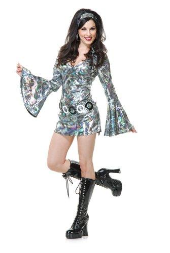 Womens Disco Queen Halloween Costume size XS 3,5
