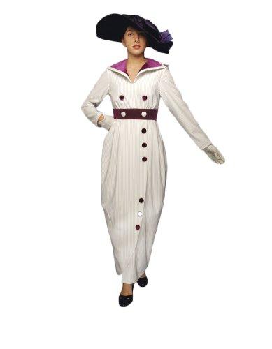 Womens-Lady-Aristocrat-Theater-Costume-L-White-0