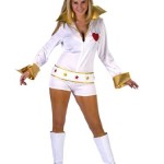 Womens-Sexy-Elvis-Costume-Elvis-Vegas-The-King-White-Jumpsuit-Sizes-Medium-Large-0
