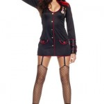Womens-XLG-14-Sexy-Marine-Honey-Costume-0